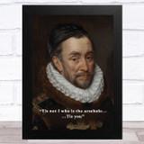 Renaissance Humour Rude Nobleman Funny Eccentric Wall Art Print