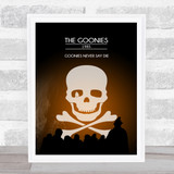 Goonies Classic Film Poster Movie Poster Film Wall Art Print