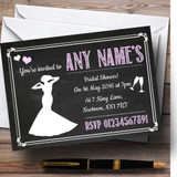 Chalkboard Pink Customised Bridal Shower Party Invitations