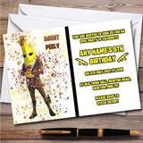 Splatter Art Gaming Fortnite Agent Peely Children's Birthday Party Invitations
