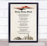 National Anthem Of Egypt Buildings Wall Art Print