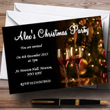 Mulled Wine Customised Christmas Party Invitations