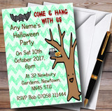 Hang With Us Customised Halloween Party Invitations