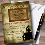 Haunted House Customised Halloween Party Invitations
