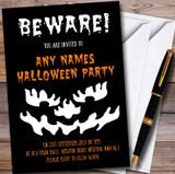 Beware Scary Customised Halloween Party Invitations