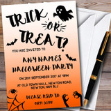 Ghost & Bats Customised Halloween Party Invitations