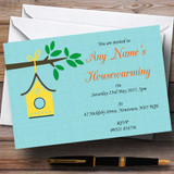 Bird House Housewarming Party Customised Invitations