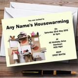 Boxes New Home Housewarming Party Customised Invitations