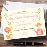 Cute Bird Housewarming Party Customised Invitations