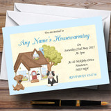 Dog And Cat Housewarming Party Customised Invitations