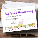Doodles New Home Housewarming Party Customised Invitations