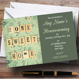 Home Sweet Home Housewarming Party Customised Invitations