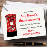 Letterbox New Home Housewarming Party Customised Invitations