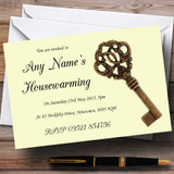 Old Key Housewarming Party Customised Invitations