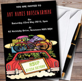 Loaded Car Customised Housewarming Party Invitations