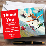 Planes Disney Customised Children's Birthday Party Thank You Cards