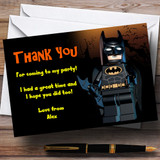 Lego Batman Customised Children's Party Thank You Cards