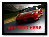 Red Ferrari Placemat