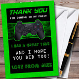 Video Game Gaming Customised Children's Birthday Party Thank You Cards