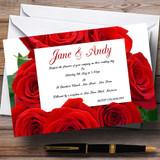 Red Rose Love Letter Customised Wedding Invitations
