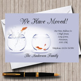 Goldfish New Home Change Of Address Moving House Cards