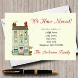House Sold New Home Change Of Address Moving House Cards