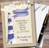 Lighthouse New Home Change Of Address Moving House Cards