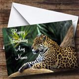 Jaguar Customised Birthday Card