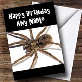 Spider Customised Birthday Card