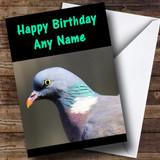 Pigeon Customised Birthday Card
