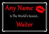 Waiter World's Sexiest Placemat