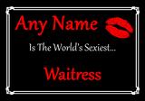 Waitress World's Sexiest Placemat