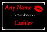 Cashier World's Sexiest Placemat