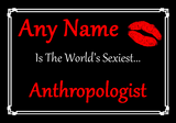 Anthropologist World's Sexiest Placemat