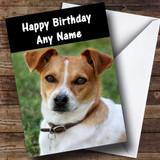 Jack Russell Dog Customised Birthday Card