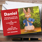 Peter Rabbit Customised Children's Birthday Party Invitations