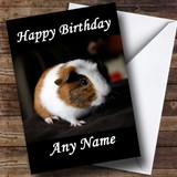 Guinea Pig Customised Birthday Card