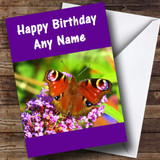 Butterfly Customised Birthday Card