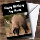 Aardvark Customised Birthday Card