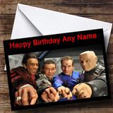 Red Dwarf Customised Birthday Card
