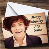 Harry Style One Direction Customised Birthday Card