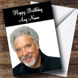Tom Jones Customised Birthday Card
