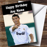 Ronaldo Customised Birthday Card