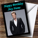 Piers Morgan Customised Birthday Card