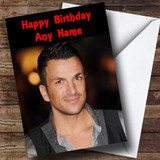 Peter Andre Customised Birthday Card