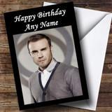 Gary Barlow Take That Customised Birthday Card