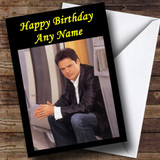 Donny Osmond Customised Birthday Card