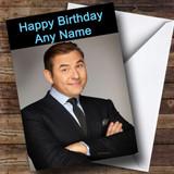 David Walliams Customised Birthday Card
