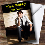 Bryan Ferry Customised Birthday Card