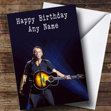 Customised Bruce Springsteen Celebrity Birthday Card